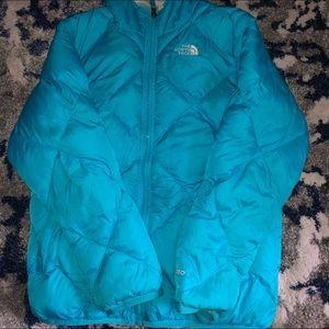 Reversible NorthFace Puffer Down Jacket
